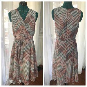 Ann Taylor LOFT Cross Front Dress